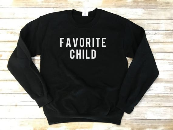 I/'m the Favorite TODDLER and YOUTH Heather Gray Sweatshirts Let/'s get that rivalry started!