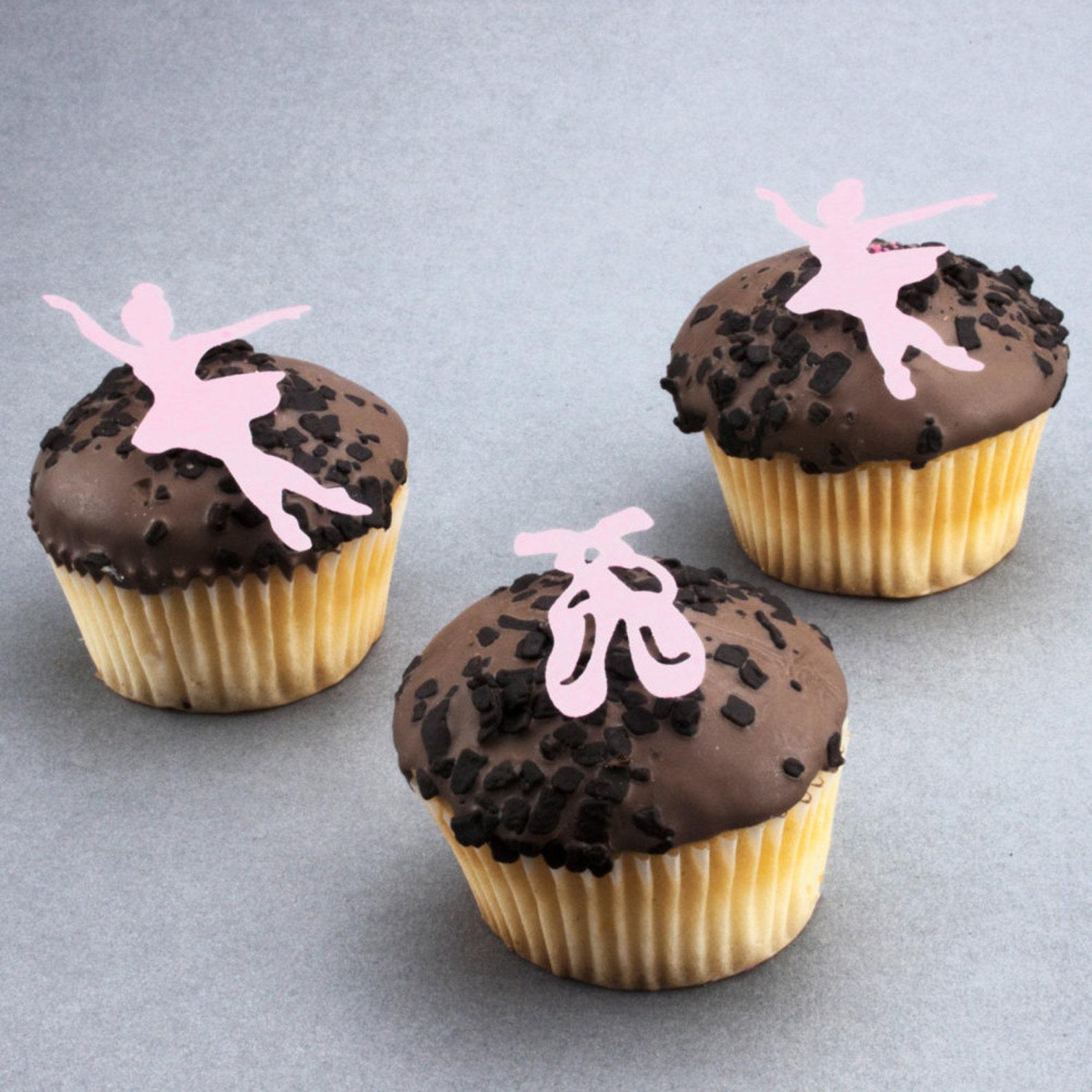 ballet dancer,ballet,ballet shoes,edible,cupcake topper,rice paper,cake,edible,ballet dancer cake topper,ballet dancer cupcake t
