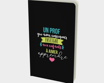 "Notebook / sketchbook / bullet newspaper ""Prof"" for teachers"