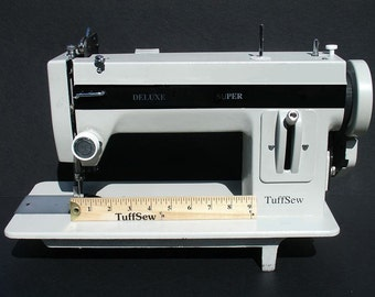 "TuffSew Industrial Walking Foot Heavy Duty Sewing Machine - 9"" Gate"