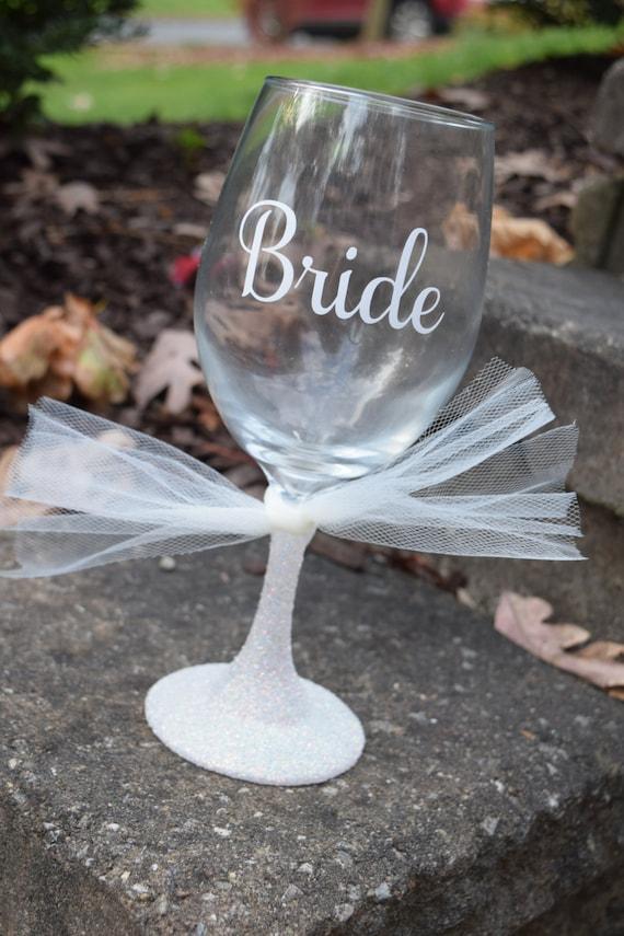 Braut Weinglas Braut Weinglas Braut zu sein Glas Wein | Etsy