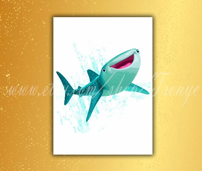 Tentures Murales Tapis Vinilo Decorativo Nemo Dory Buscando