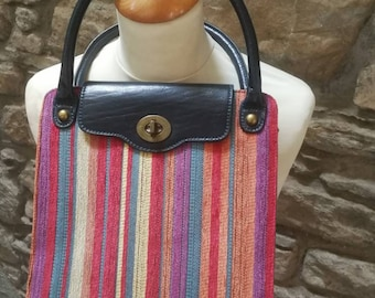 Edina Ronay 1960s multi coloured bag. 66dbae3075473