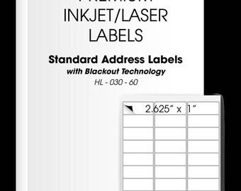 30 labels per sheet etsy