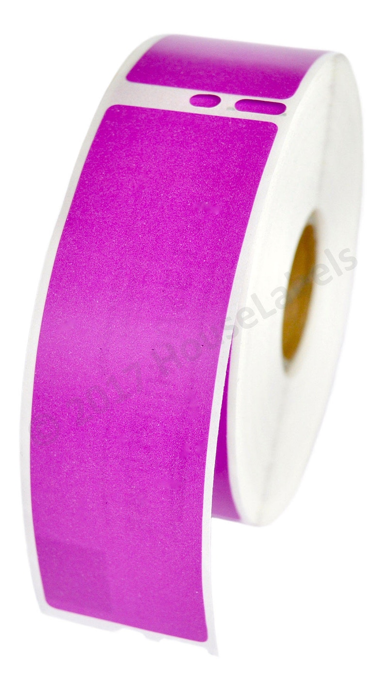 """6 Rolls 30252 White Labels 1-1//8/""""x3-1//2/"""" Compatible Dymo® LabelWriter® CoStar®"""