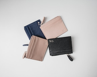 bee3200425e06b Personalised Zip Card Holder Mini