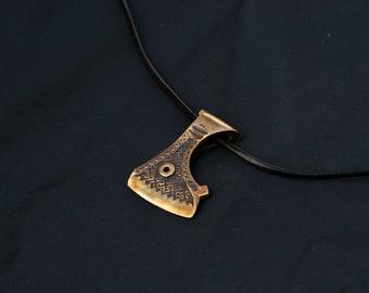 Perun's Axe Pendant Axe of Perun Brass Pendant Axe