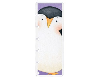 Laminated Discbound Penguin Fishing Planner Cover