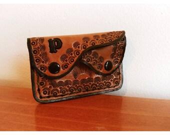 Vintage Mini Leather Wallet