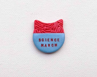 Science March, Science is Real Pin, Climate Change Pin, Brain Hat, Science not Silence, Anti Trump, Science Matters, Trump Resistance Pin