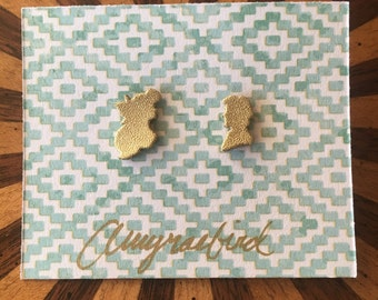 Ariel and Eric Silhouette Earrings