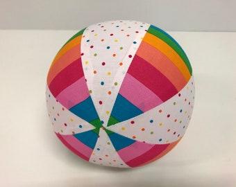 Inflatable Balloon Ball Cover Aqua Eumundi Kids Balloon Ball Fabric Ballerina Portable Ball Sensory Travel Ball Special Needs Pink