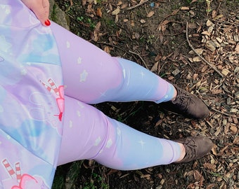 76c519343de Fairy Kei Pastel Leggings