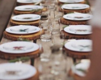 Gathering Table Chargers •custom sizes•