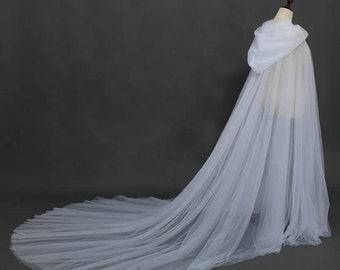 Wedding bridal rennaissance solstice Wiccan cosplay Halloween cape cloak bolero hooded usa