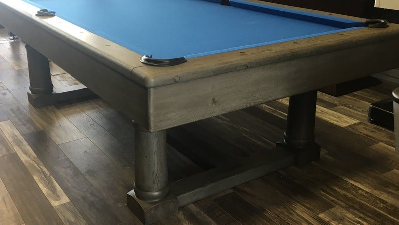 Incredible 8Ft Nantucket Pool Table Perfect Combination Of Rustic Elegance Home Interior And Landscaping Spoatsignezvosmurscom