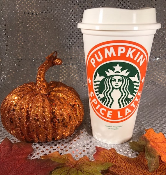 Pumpkin Spice Latte Personalized & Customized Starbucks Cup