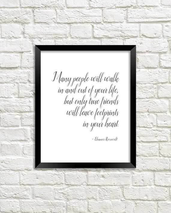 Eleanor Roosevelt Quote Art Print Eleanor Roosevelt Art Etsy