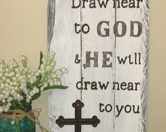 Draw Near To God Etsy