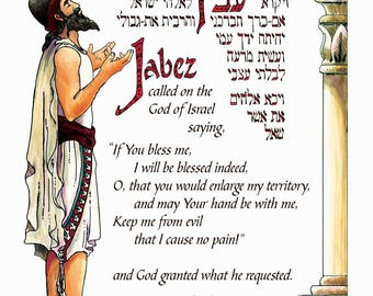 graphic about Prayer of Jabez Printable named Prayer of jabez Etsy