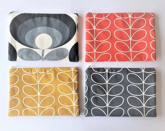 Orla Kiely iPad Case / Tablet Case/ iPad Cover - Linear Stem Grey/ Dandelion/ Tomato & 70s Flower Oval - Can be custom made in other sizes