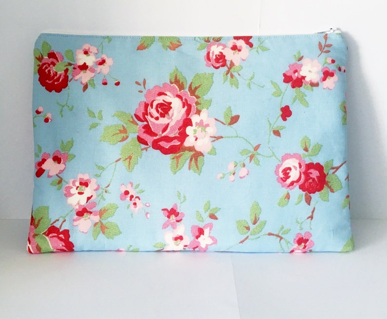 Cath Kidston Fabric iPad Case / Tablet Case/ iPad Cover  Pale image 0