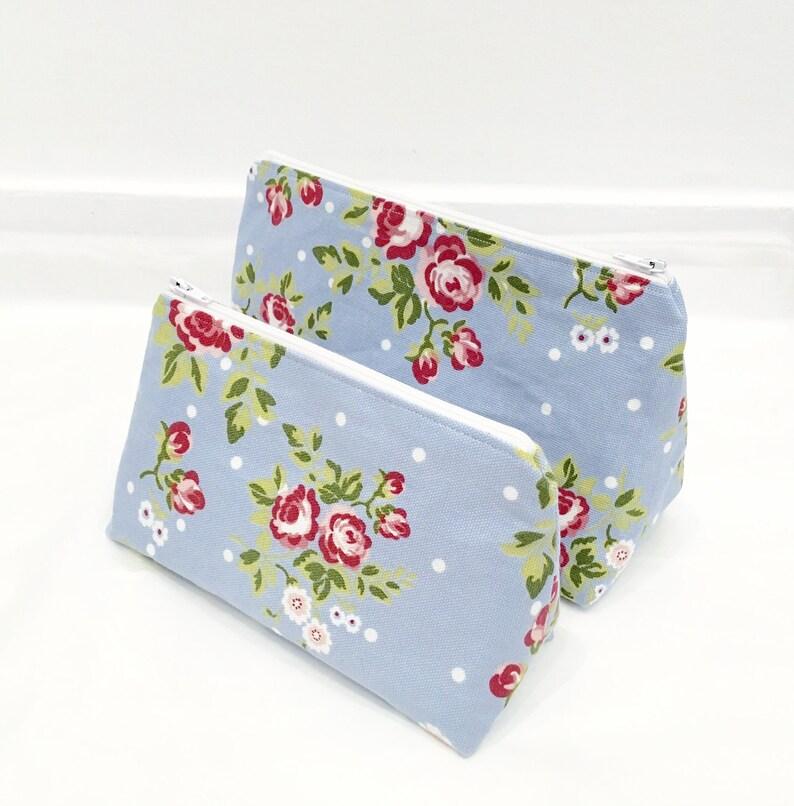 Makeup Bag Set  Cath Kidston Style Fabric Toiletry Bag Set/ image 0