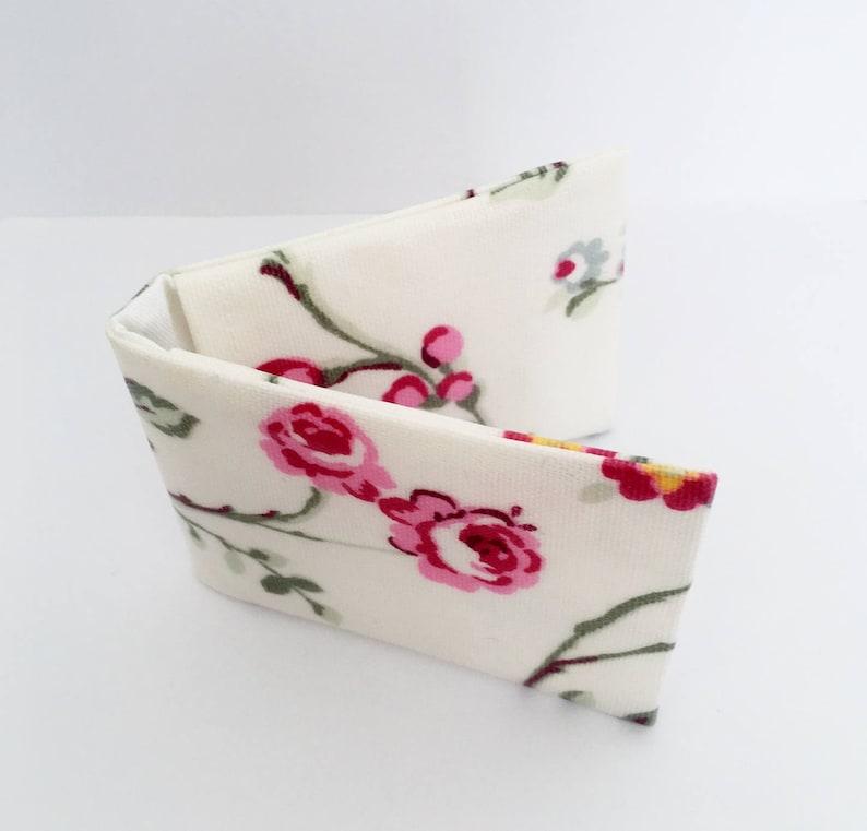 Floral Card Holder  Oilcloth / Oyster Card Holder/ Credit image 0