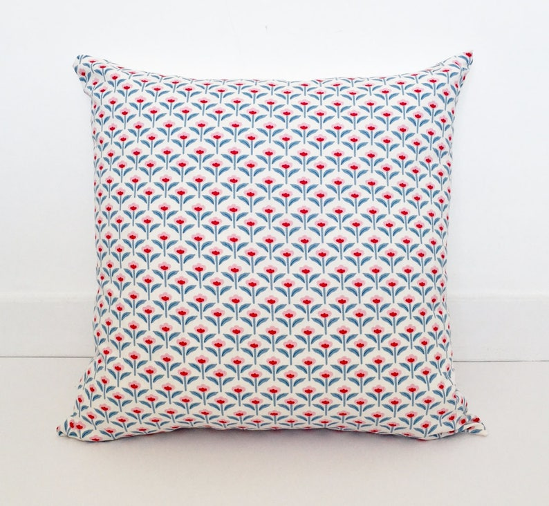 Retro Floral Cushion Covers / Pillow Covers  45x 45 cm image 0