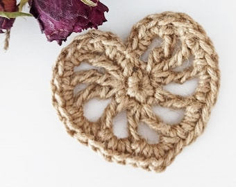 Natural ecological soap holder Simple heart Zero waste