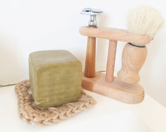 Natural ecological Marseille soap holder Zero waste minimalist