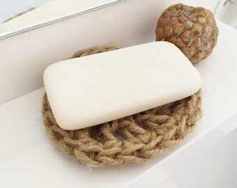 Natural soap holder Zero ecological waste Round