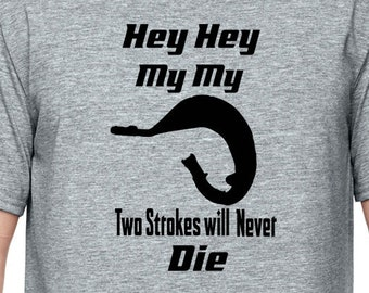 Two stroke  Motorcycle T-shirt