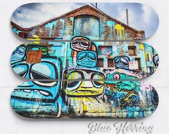 Skateboard Art for kids, graffiti artwork, street art decor, 3 Piece Wall Art, Melbourne Australia, teen boy room, birthday gift for him