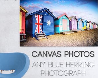 Custom Canvas Photograph, Photos to Canvas Prints, Street Art Graffiti, Melbourne Brighon Beach, Twelve Apostles St Kilda