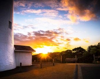 Light House Decor, Australian Photography, Great Ocean Road, Twelve Apostles, Beach Print, Extra Large Wall Art, Coastal Photo, Blue Herring