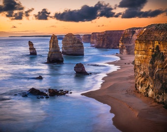Twelve Apostles Wall Decor, Great Ocean Road Print, Australian Nature, Melbourne Photo, Australia Landscape, Coastal Photograph, Zoom Wall
