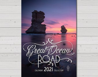 Great Ocean Road 2021 Wall Calendar, Twelve Apostles, Photography Prints, Australia Travel, National Parks, Christmas Gift, Monthly Planner