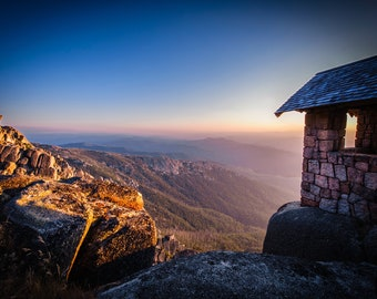 Panoramic Photograph, Australia Wall Art, Mount Buffalo National Park, Victorian Alps, Mountain Print, Landscape Photo, Christmas Gift for