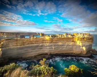 Twelve Apostles, Great Ocean Road, Australia Photography, The Razorback, Nature Wall Decor, Sea Coast Photo Print, Australian National Park