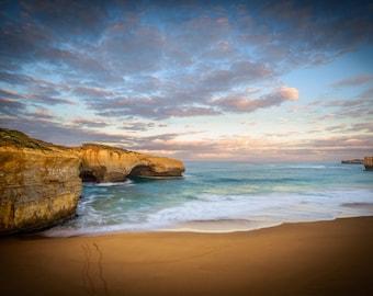 Twelve Apostles, Great Ocean Road Poster, Australian Photography, London Bridge, Beach Nature Wall Art, Sea Coast Photo, travel gift for him