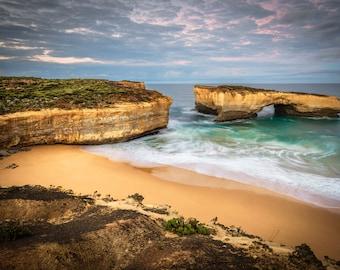 Twelve Apostles, Great Ocean Road Poster, London Bridge, Australian Made, Beach Panoramic, Sea Coast Photo, extra large art, travel gift