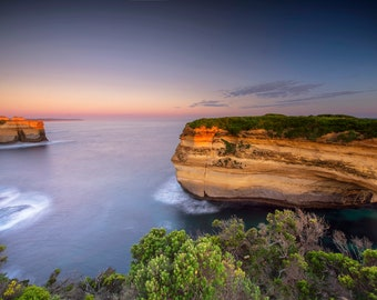 Great Ocean Road Print, Twelve Apostles, National Park Poster, Loch Ard Gorge, Beach and Sunset, large Wall Art, Coastal decor, Photo Gift