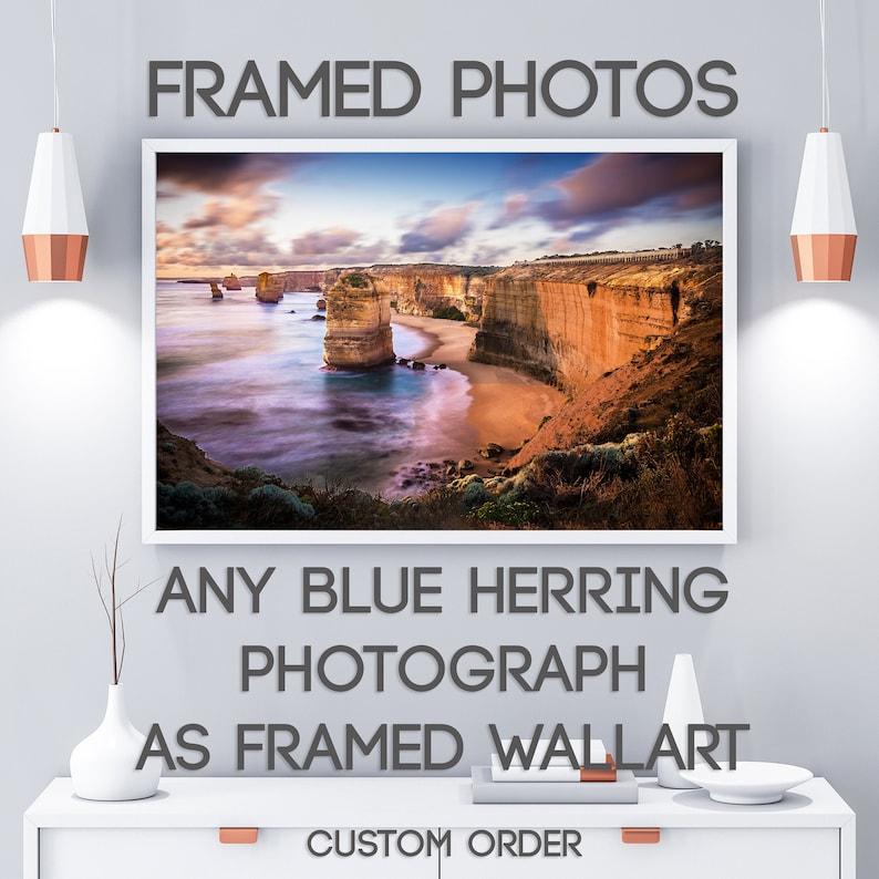 Framed Art Print Personalised gift Twelve Apostles image 1