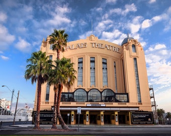 Palais Theatre, St Kilda Print, Melbourne Australia, Art Deco Poster, Travel Gift, Photography Gifts, Classic Art Prints, extra large art