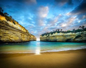 Great Ocean Road, Twelve Apostles, Australian Landscape, Photography Print, Coastal Wall Art, Nature photos, Travel Birthday Gift for him
