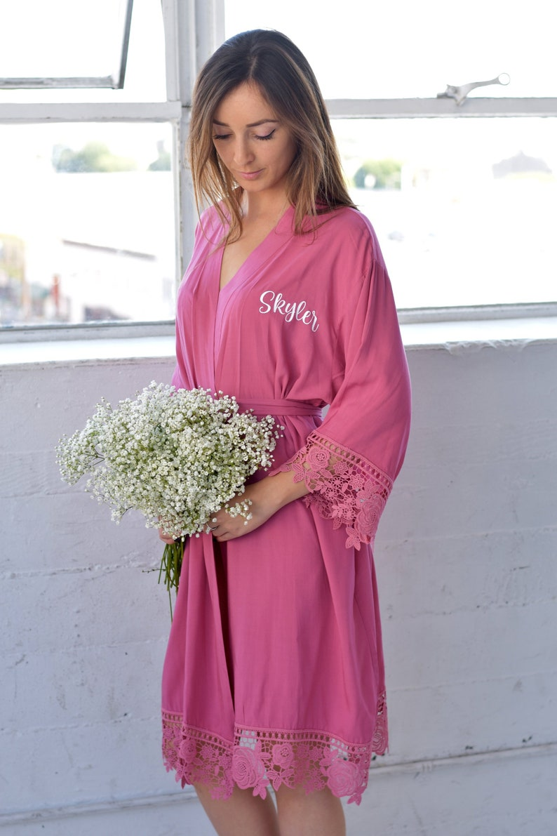 38d614a65d Bachelorette Party Gift Bridesmaid Gifts Bridal party robe