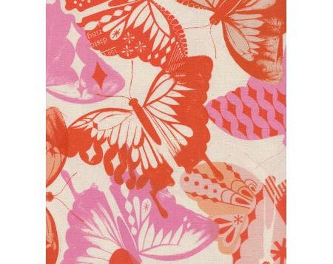 Featured listing image: Flutter - Flutter - Orange Unbleached Cotton Fabric-Cotton and Steel-RJR-M0058-004 -
