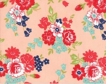 Bonnie and Camille Smitten 8-18x44 Cuts Half Yard Bundle Moda Quilt Fabric Aqua