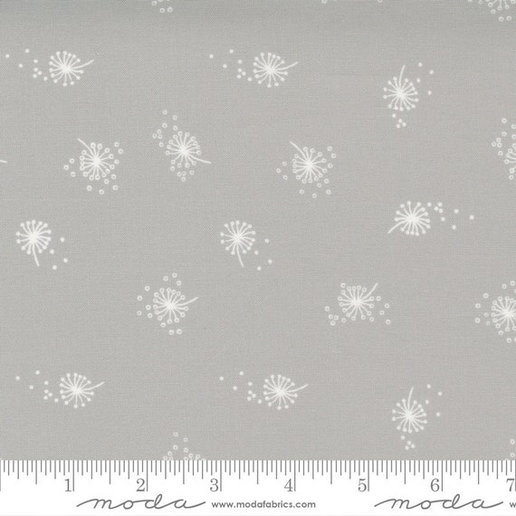 Little Ducklings, in Warm Grey, 25106 14 Moda, By Paper And Cloth, Sold by the 1/2 yard or the yard
